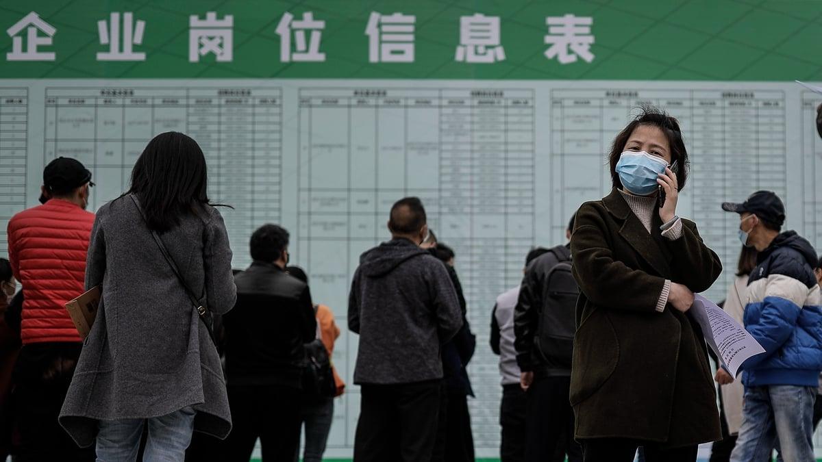 中共央行日前發佈了一份對中國城鎮居民的調查報告,顯示逾半家庭已在破產邊緣。(Getty Images)