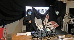 九成九受訪者反對國安法