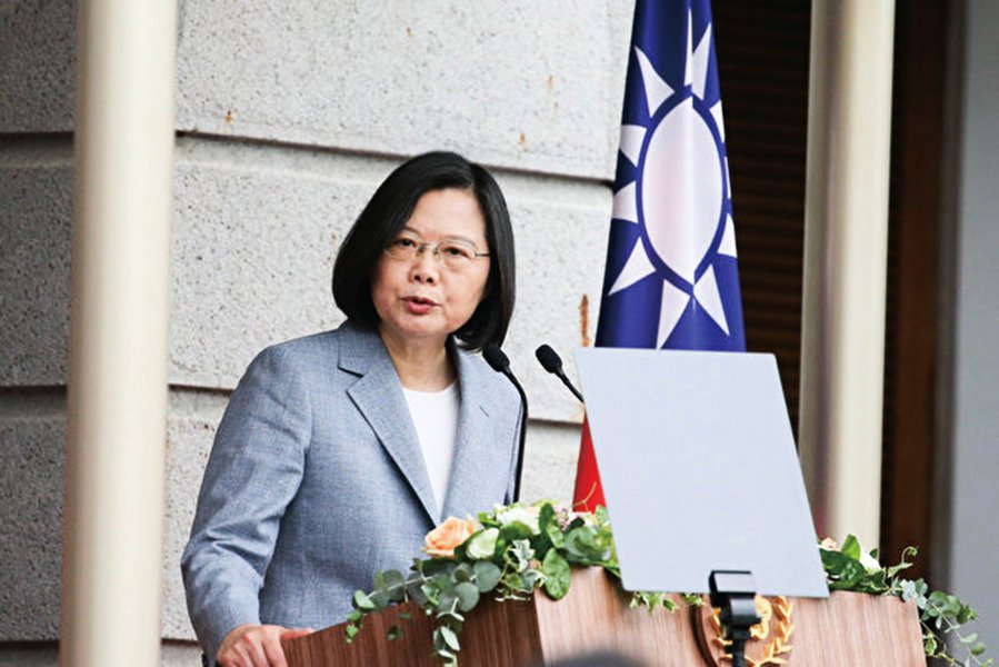 蔡英文:台灣不會坐視 自由人權在香港倒退