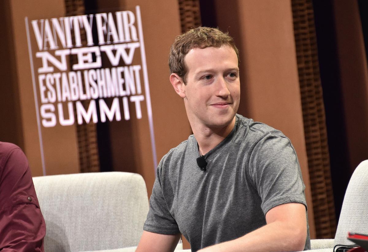 臉書創辦人朱克伯格2008年首度進入《福布斯》400大富豪之列,現已躋身為全球五大富豪。(Getty Images)