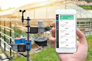 智能農業使用物聯網 監控終端信息