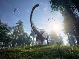 澳洲新發現長頸恐龍化石