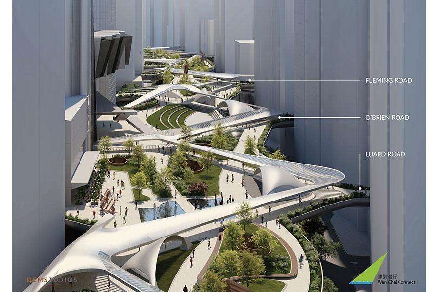 嶄新公共空間概念圖。(公關提供)