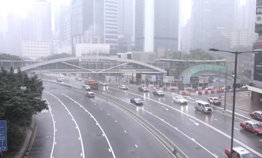 特朗普講話 香港電閃雷鳴 網友稱「開始拆了!」