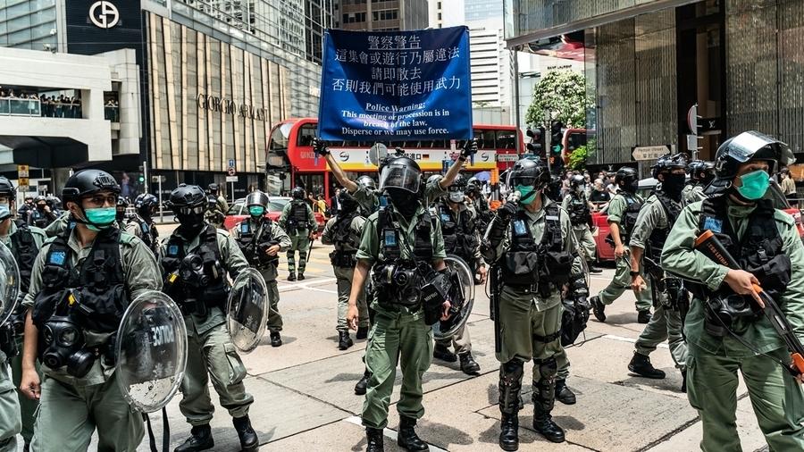 消息:北京鐵了心「拳腳治港」 廣東公安廳長坐鎮中聯辦 香港六月風暴來臨