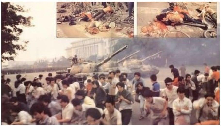 31年前的天安門六四大屠殺,因中共隱瞞實情,如今很多中國民眾還不知道真相。(網絡圖片)