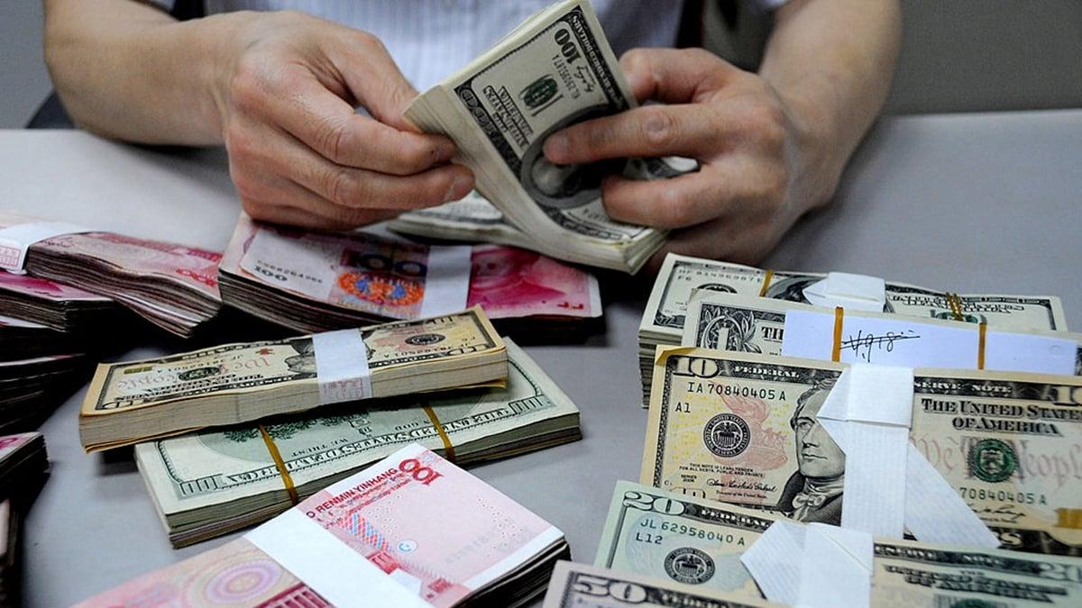 有分析指,美國若對中共實施金融制裁,中共將無力反擊。(VCG/VCG via Getty Images)