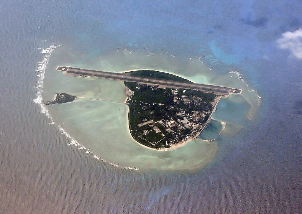 中國早在90年代初在永興島興建機場。(Wikimedia Commons)