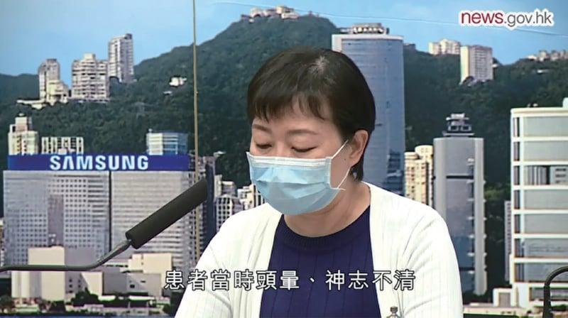 本港昨日新增兩宗中共病毒(武漢肺炎)確診個案,是相隔十多天後再有本地個案。(政府新聞網影片截圖)