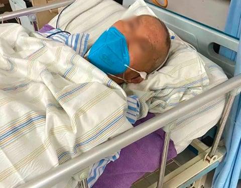 張海父親死於中共肺炎。(網絡圖片)