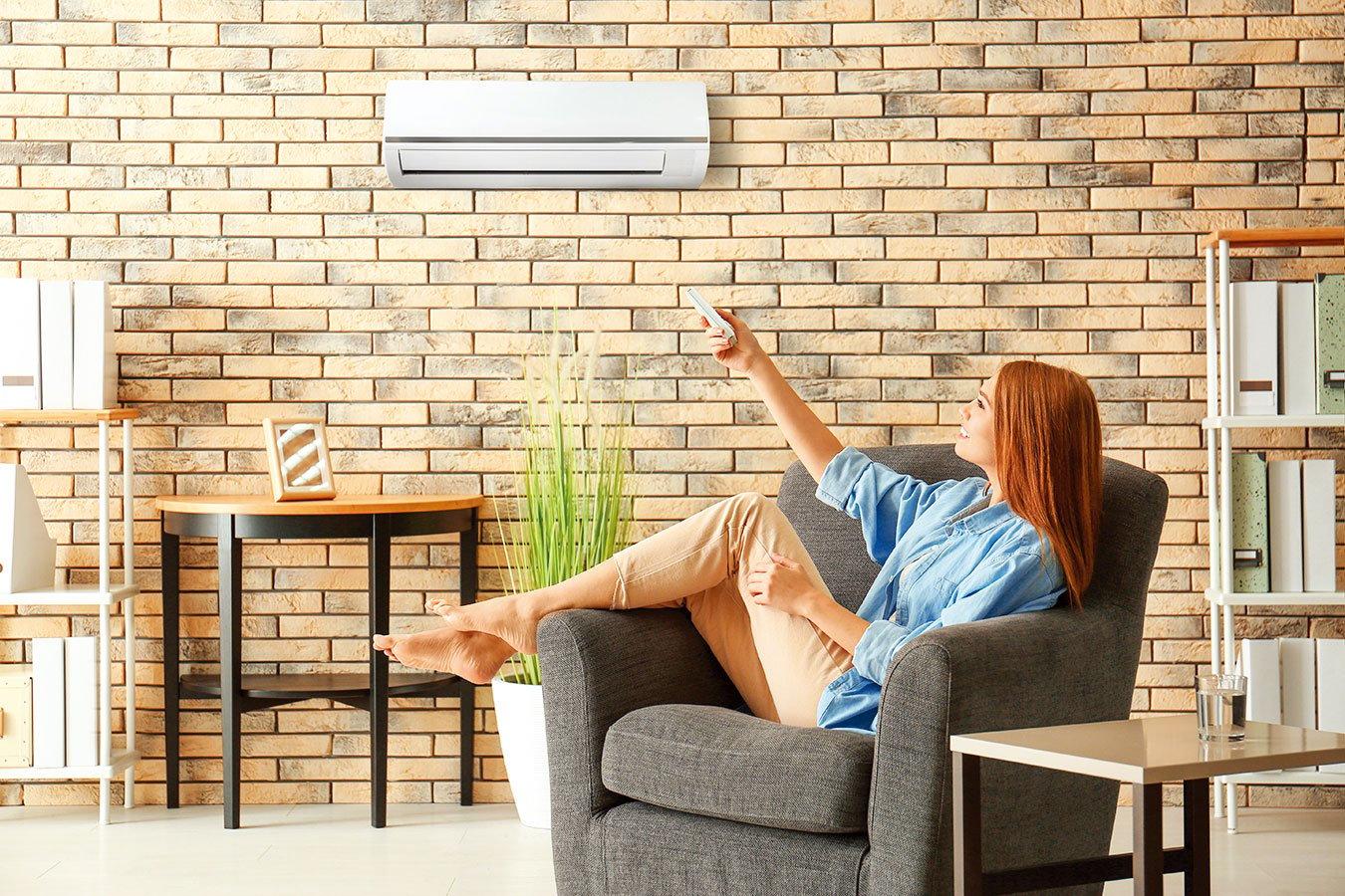 在家吹冷氣時可以多使用定時功能。(shutterstock)