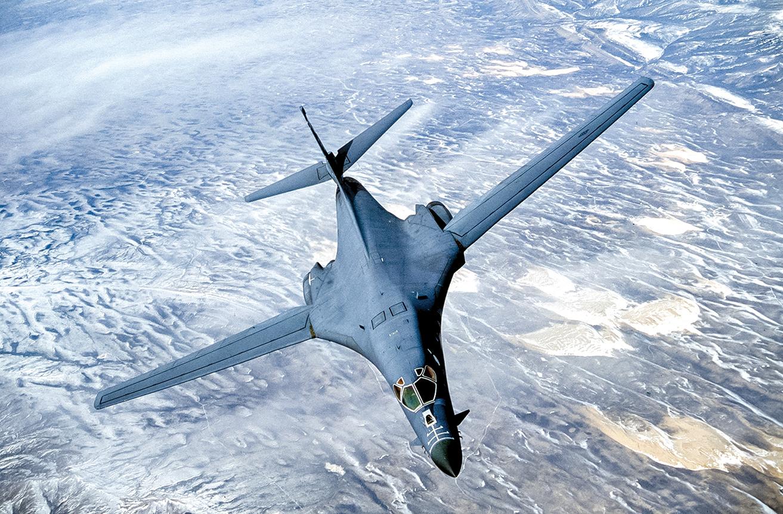 美國空軍B-1B超音速轟炸機。(Photo Courtesy USAF/Getty Images)