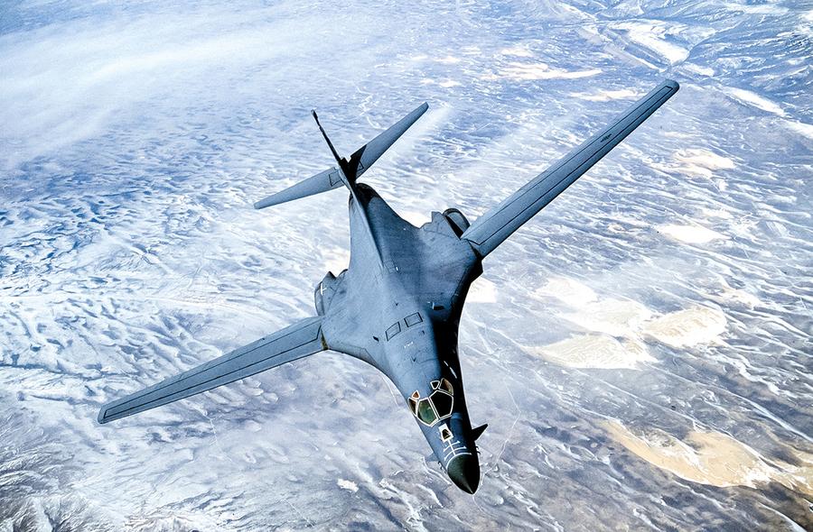 美擬改進B-1轟炸機  可攜帶高超音速導彈