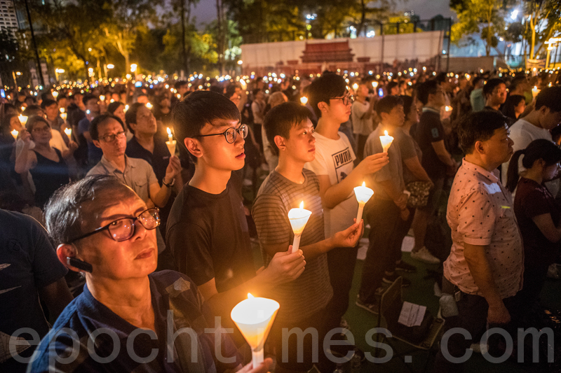 今年是中國1989年天安門六四屠殺三十一周年。今年的六四集會第一次被警方發出反對通知書(余鋼/大紀元)