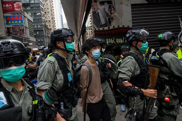 6月的香港恐將迎來新一輪風暴。(Billy H.C. Kwok/Getty Images)
