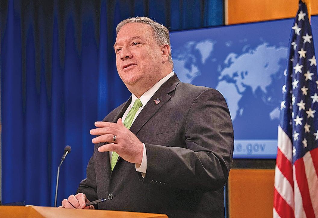 周日(5月31日),美國國務卿蓬佩奧再次提到中共進行虛假信息宣傳,目的是轉移視線。(大紀元)