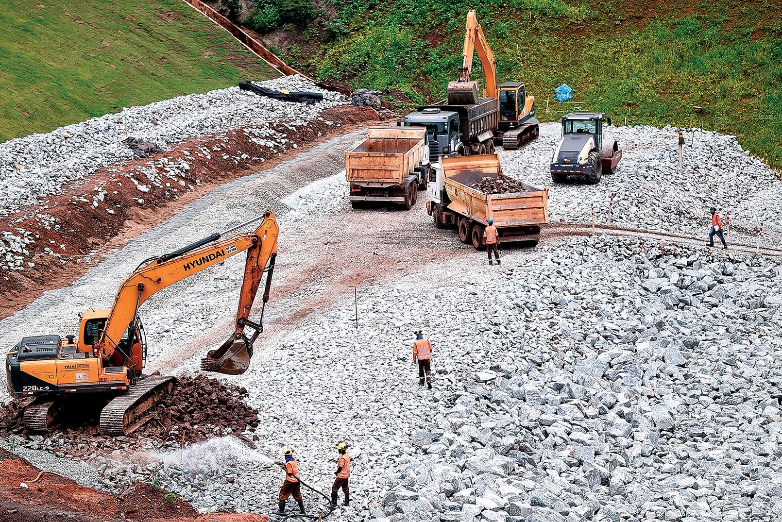 巴西的鎳礦佔據世界85%以上的儲備。中共至少五家國企擁有巴西礦業公司的部份股權。圖為巴西一處正在開採的礦山。(Getty Images)