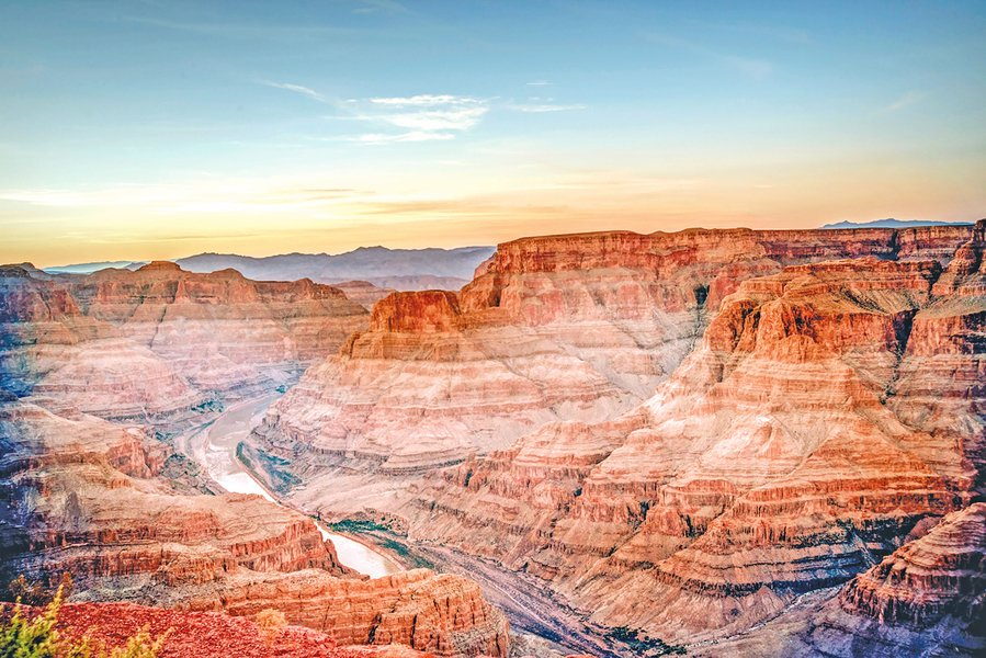 世界級自然奇觀 美西大峽谷