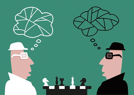若說廣告是一種表演,不如說廣告是一場賽局理論的競賽。