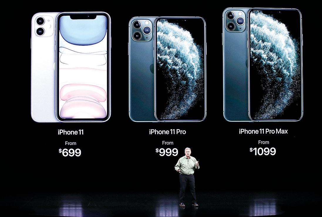 p蘋果的iPhone 11因為性價比突出而受到用戶青睞,持續熱銷。(Getty Images)