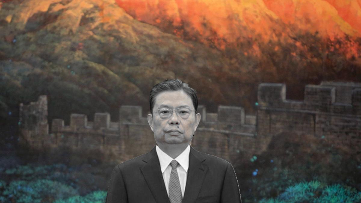 趙樂際被曝涉腐敗大案,其後期陞遷是得益於江和曾慶紅的安排。(合成圖片/Getty Images)