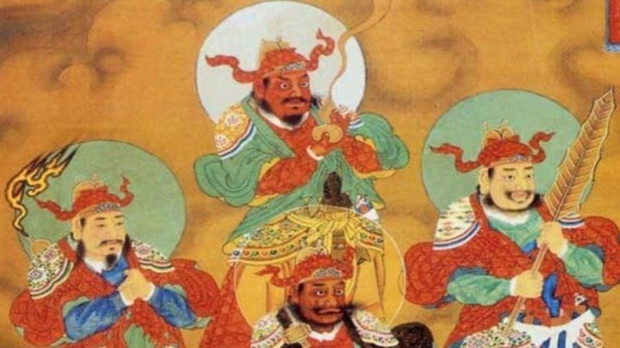 5位瘟神有名有姓 奉天命人間布疫