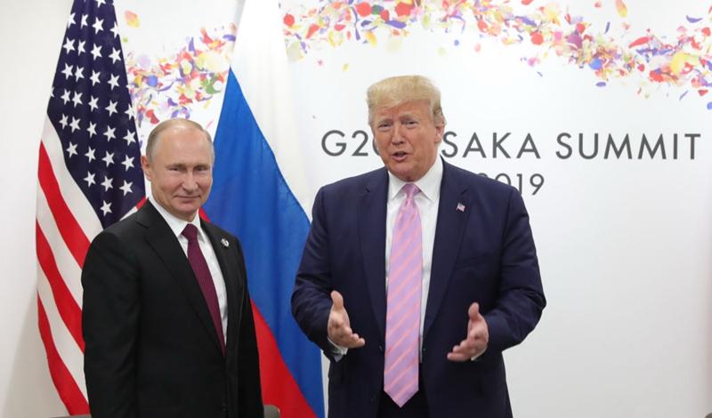 特朗普擬建11國反共聯盟 與普京討論擴大G7峰會