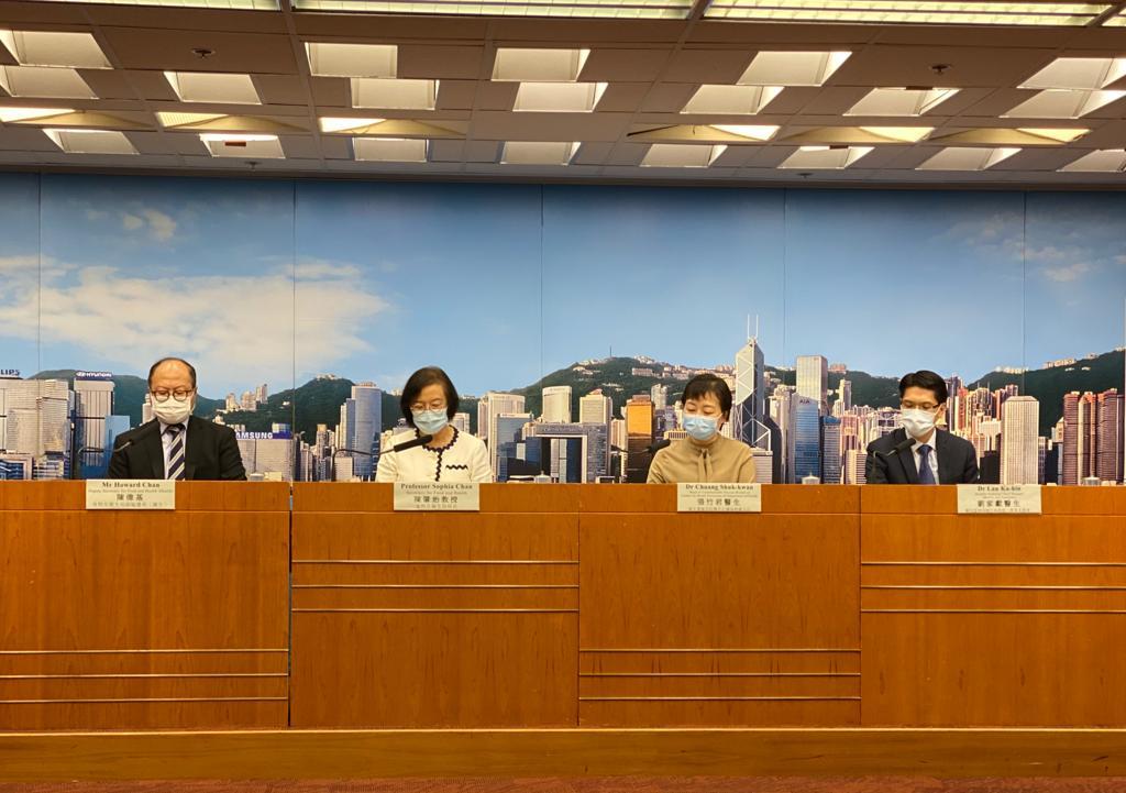 本港昨日新增6宗中共病毒確診個案,因應疫情,政府宣佈限聚令將延長至18日。(肖龍/大紀元)