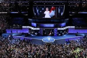 民主黨大會閉幕 希拉莉:讓我們一起更強大