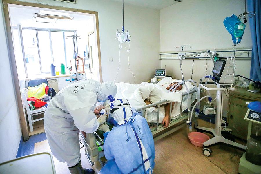 武漢教師染疫 在醫院病逝經過