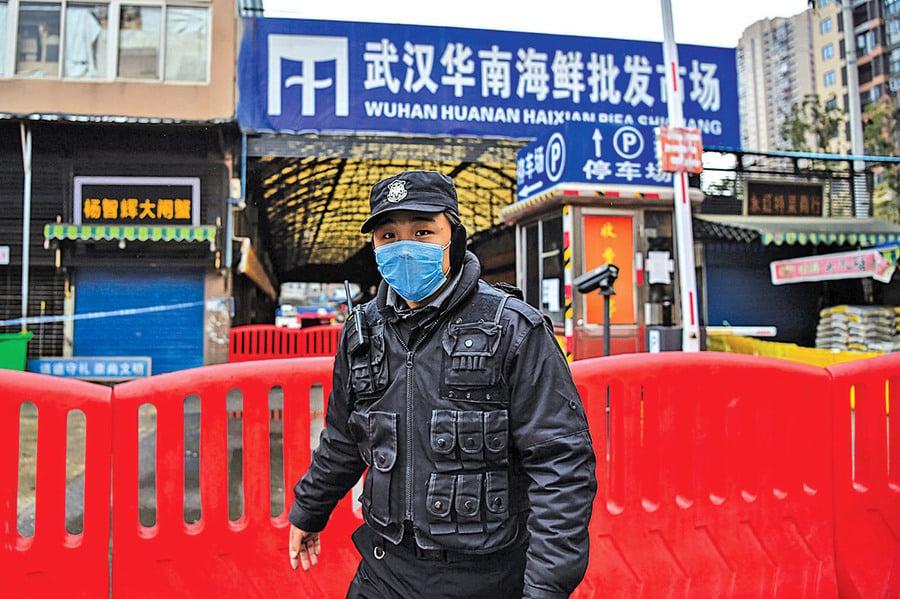 獨家 武漢華南海鮮市場檢測秘密