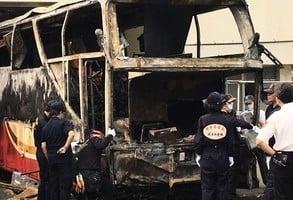 陸客團火燒車案 台檢:司機醉駕 不排除自焚