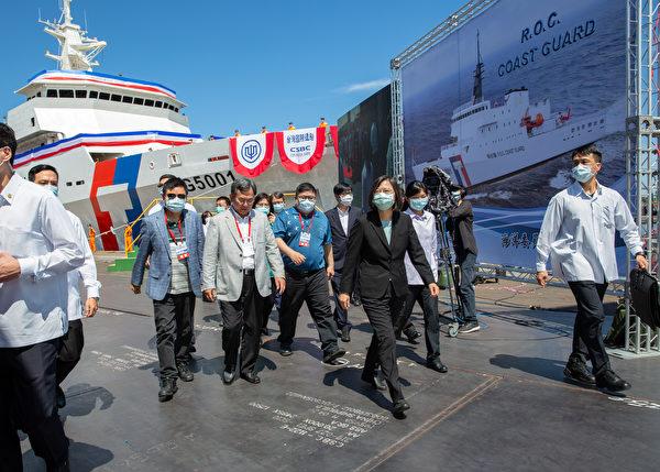 台造最大海巡艦下水 美學者:讓台灣取得核武器