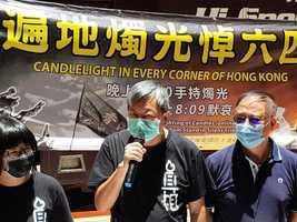 【直播】【六四悼念】警方反對通知書 支聯會:進維園點燭光