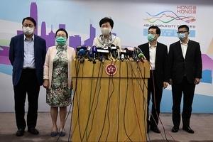 林鄭一行入京只見到韓正 北京對國安法變軟