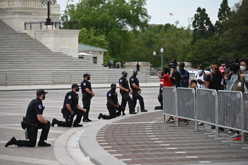 美國騷亂被中共過濾的事實:涉事警被控二級謀殺