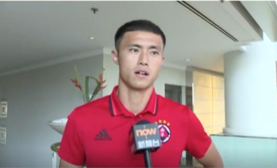 香港足球隊前隊長陳偉豪表示有意參選立法會功能界別選舉。(新聞截圖)