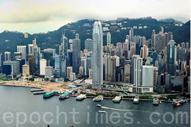 北京強推「港版國安法」之後,華盛頓表示,將取消香港特殊貿易地位,外資關注香港未來經濟前景。(大紀元資料室)