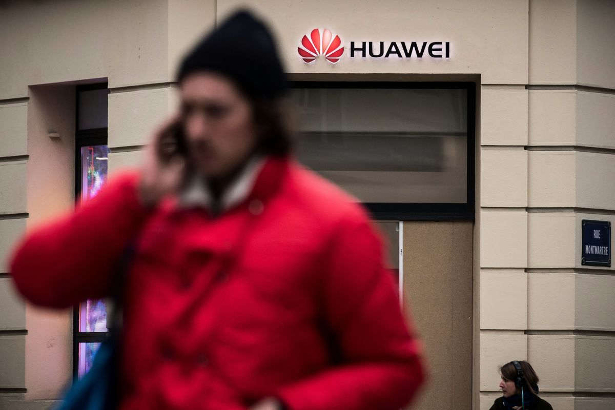 世界三大電信巨頭放棄華爲5G。(LIONEL BONAVENTURE/AFP via Getty Images)