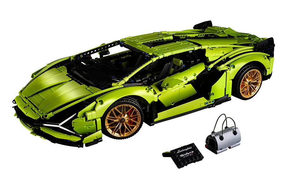 LEGO林寶堅尼跑車  模型造型精緻