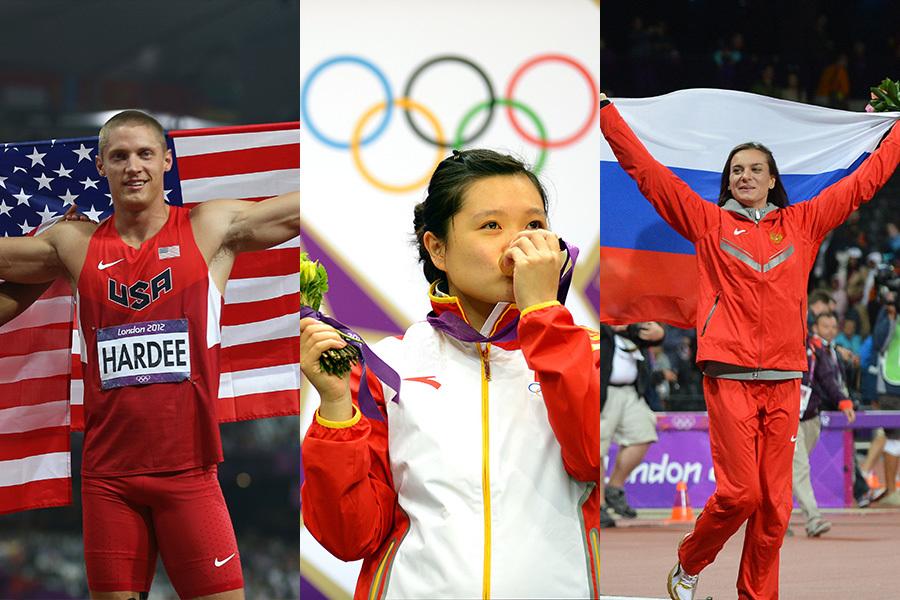 全球著名體育雜誌美國《體育畫報》預計2015里約奧運獎牌排行榜,美國、中國及俄國仍居世界前三3名。(Streeter Lecka/Getty Images、Lars Baron/Getty Images、AFP/JEWEL SAMAD)