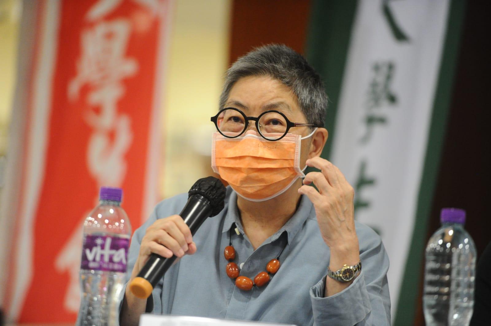 前立法會議員,香港執業大律師吳靄儀。(宋碧龍/大紀元)