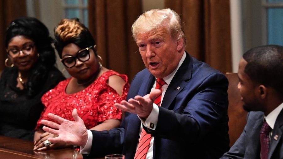 民調:特朗普獲黑人支持率超40% 多數選民贊成派兵平亂