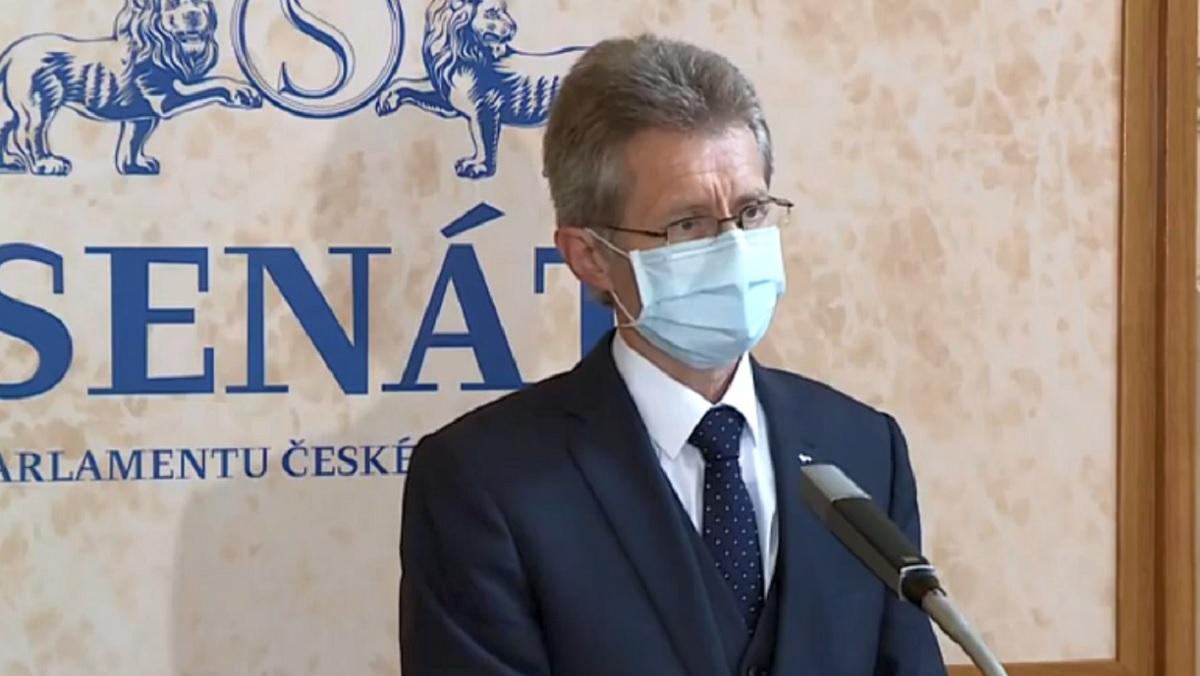 捷克參議院議長維特齊下周將宣佈出訪台灣。(影片截圖)