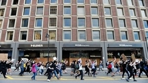 中國留學生參加美國騷亂 揚言:明天再去搶一波
