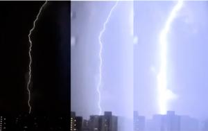 本港3年來首次黑色雷暴警告 民呼「天降異象」
