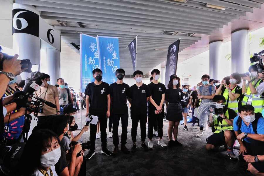 學生組織申請九龍遊行被拒 尖沙咀設街站譴責政治打壓