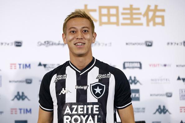 知名日本足球名星,Honda仔(本田圭佑 Keisuke Honda)再次為港發聲。圖為Honda仔今年2月在巴西里約熱內盧。(Wagner Meier/Getty Images)
