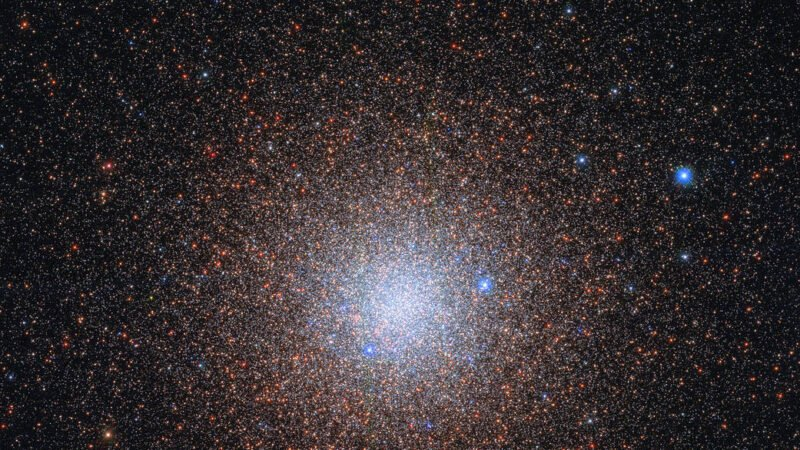 哈伯傳回燦爛影像 天蠍座的「雪花星團」曝光