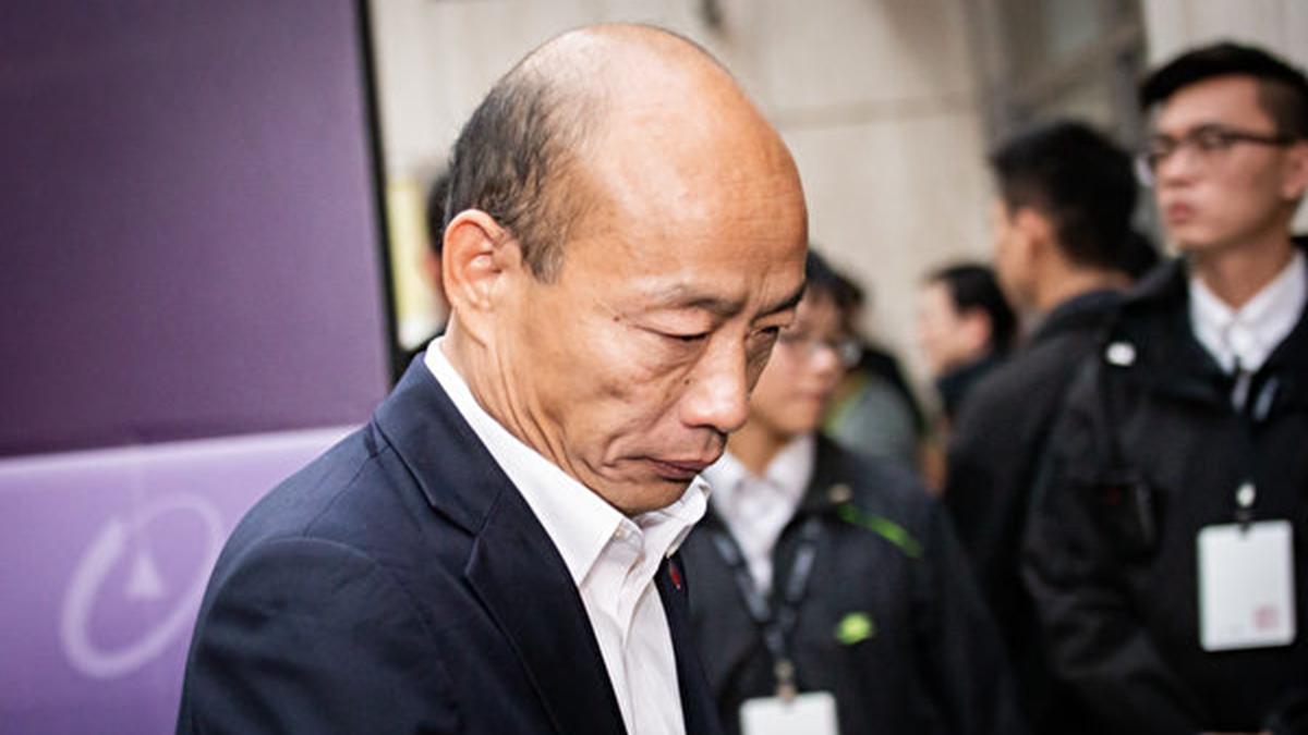 2020年6月6日,韓國瑜被人民趕下台,掀起網絡熱議。(陳柏州/大紀元)